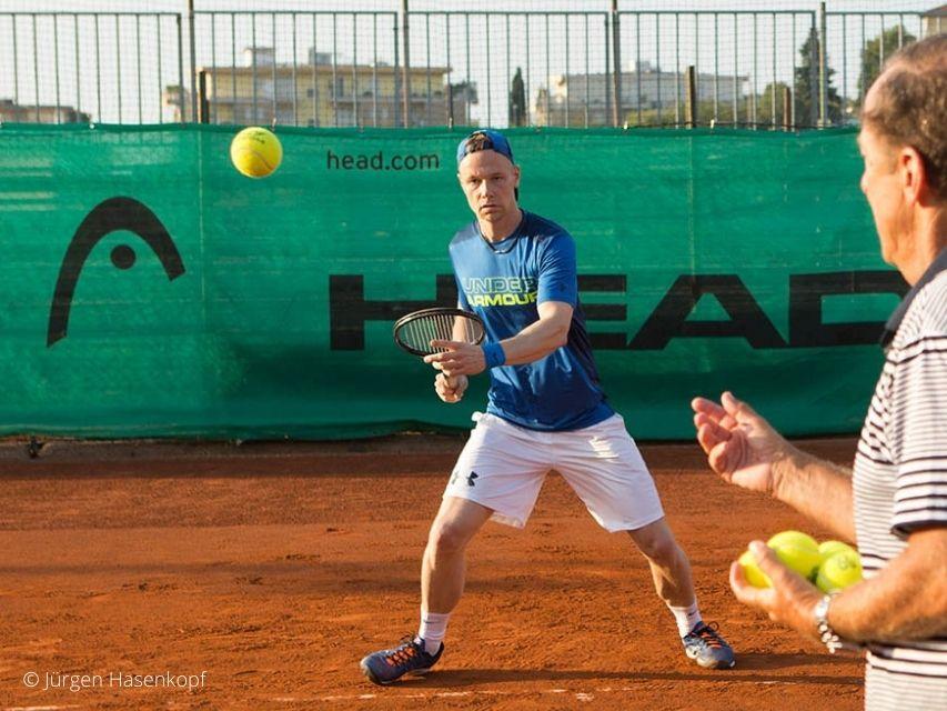 Tennis Schule des Lebens